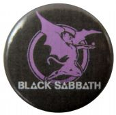 Black Sabbath - 'Devil Purple' Button Badge